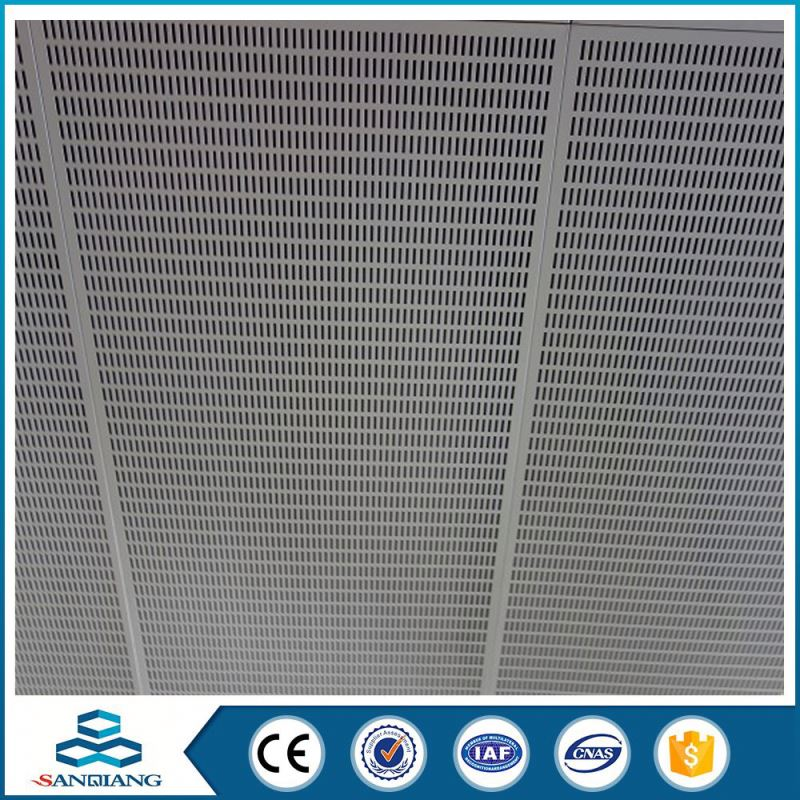 hot sale customized iron perforated metal sheet mesh panels for acoustic wall