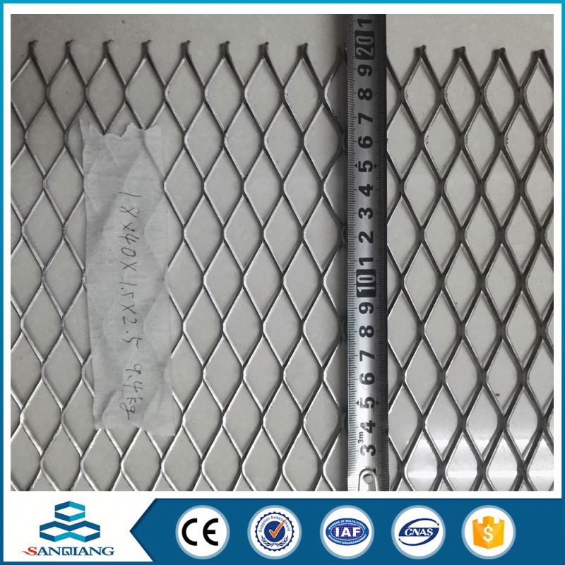 Best Professional expanded metal mesh punching for stairs