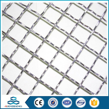 Energy Saving black wire stainless steel crimped wire mesh