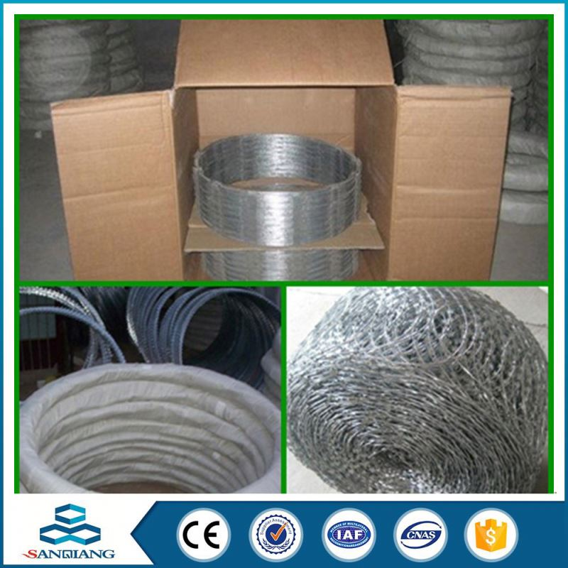 reverse twist pvc coated iron barbed wire manufacturers china