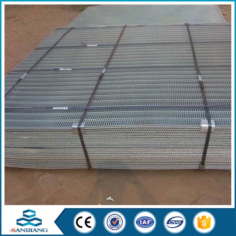 strength galvanized welded wire mesh panel factory