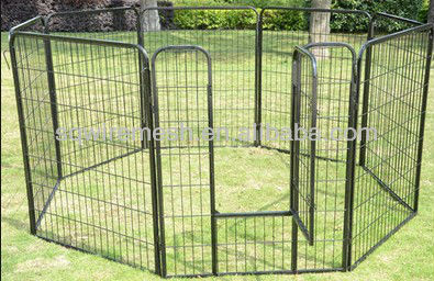 8 panels portable fences for dogs