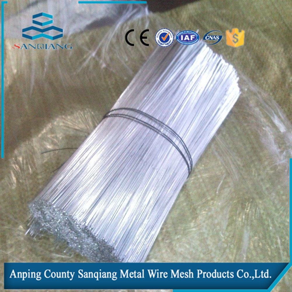 Galvanized or pvc coated suitable price the stainless steel cut wire,steel wire rod