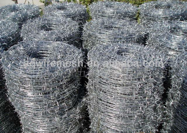 galvanized barbed wire(Anping Factory)