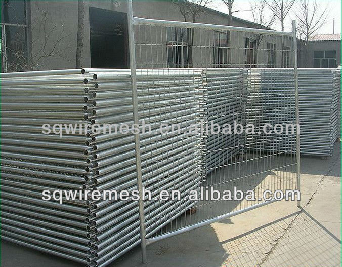 construction and industry galvanized welded wire mesh fence