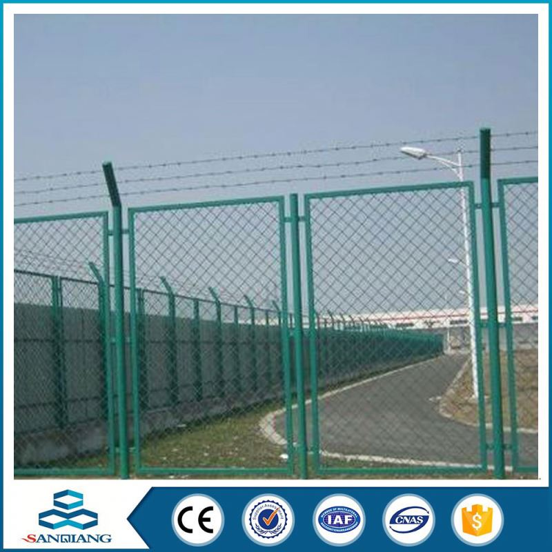 blade concertina electro galvanized razor barbed wire factory in anping