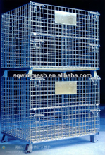 heavy duty wire mesh container/wire mesh basket