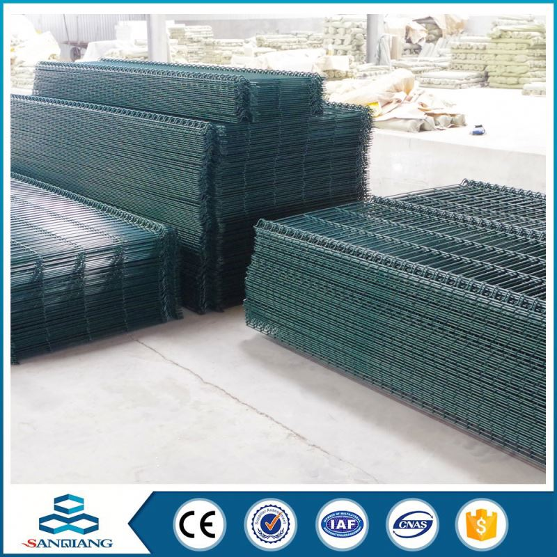 best selling cheap price palisade gabion triangle bending fence