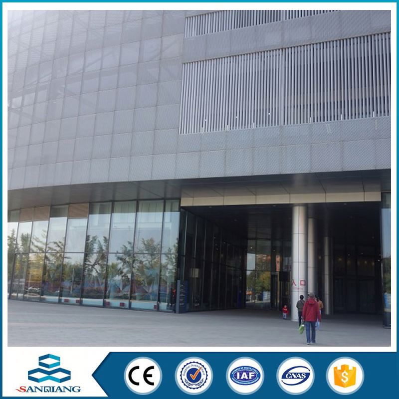 plain 0.3mm perforated metal mesh sheet architecture material