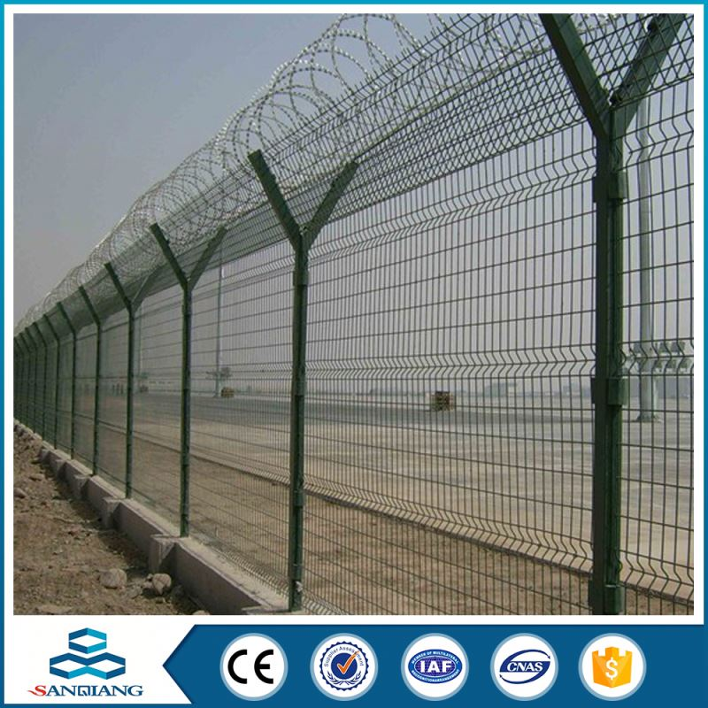 china cheap best price security palisade field fence price