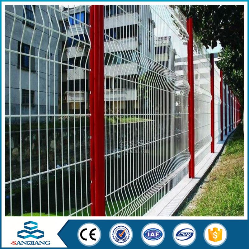 best quality cheap high security pvc triangle bent fence