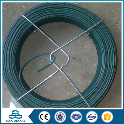 18 gauge roll galvanized pvc coated iron wire