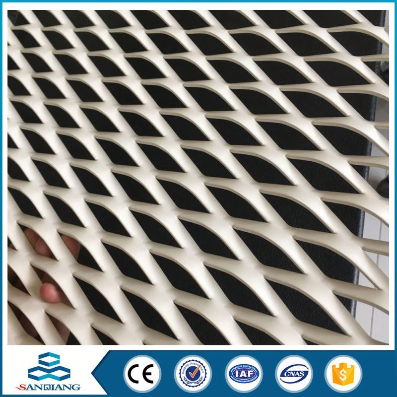 aluminum expanded metal mesh sheet for curtain wall