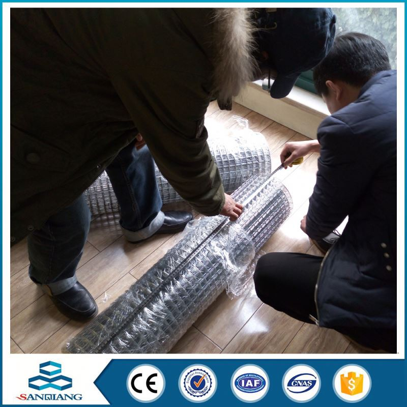 bird cage welded wire mesh machine in rollmade in china